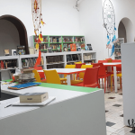 biblioteca comfandi miraflores